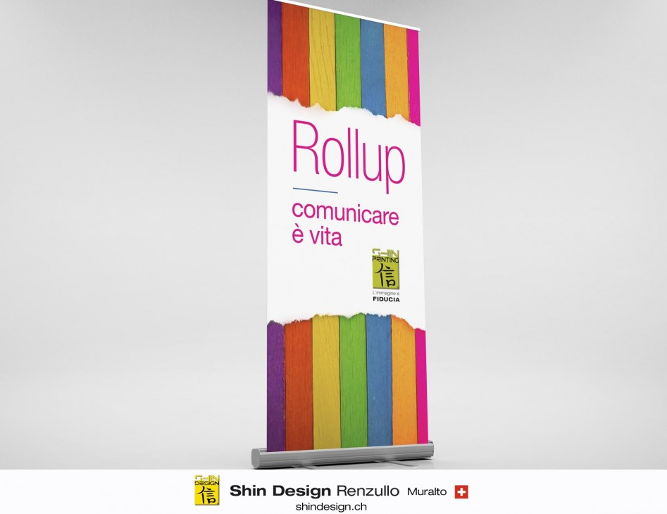 Stampa Rollup